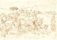 paysage de mirmande by andré lhote
