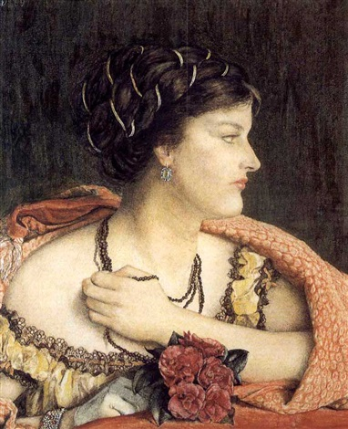 at the opera by catherine madox brown hueffer