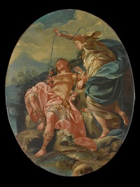 armida and the sleeping rinaldo by claudio francesco beaumont