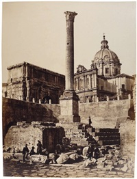 colonne de phocas by pompeo molins and gioacchino altobelli