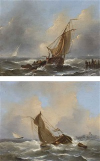sailing of the dutch coast by govert van emmerik