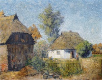 village in pomerania by carl hessmert