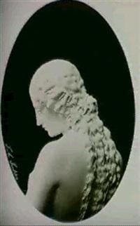 detail de eve, sculpture de john adams jackson by guiseppe alinari