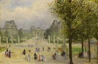 les tuileries by emile rené lafont