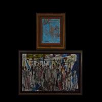 juggler & bazar (2 works) by pascal cucaro