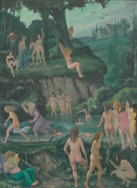 the old swimming hole (new version) by clyde singer