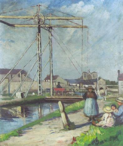 the canal bridge by eva henrietta hamilton