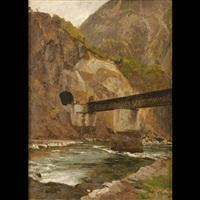 ferrovia sopra l'isarco by carl julius e. ludwig