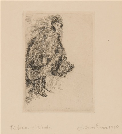 pêcheur dostende by james ensor