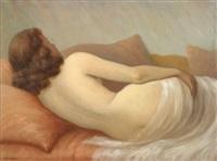 femme allongée by jean jannel