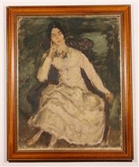 portrait of a lady by nicolai vasileff