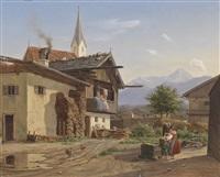 bauernhof by wilhelm ferdinand xylander