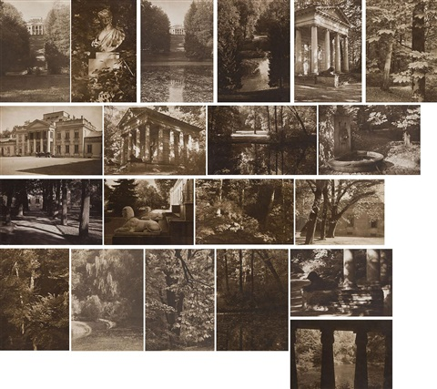 A Portfolio Of 20 Photographs Of Royal Park Lazienki From