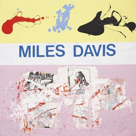 miles davis by george condo