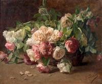 la corbeille de roses by henri biva