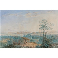 vista del valle de caracas desde el suroeste by anton goering