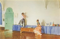 in my studio by william russell flint