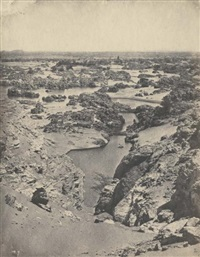 egypte, second cataracte du nil by maxime du camp