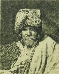 a begger by theodor aman