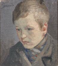 portrait de jeune garçon by albert besnard