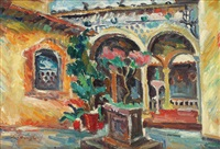 venetian yard by ecaterina cristescu delighioz