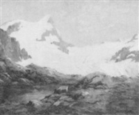 snow peaks by jean j. pfister