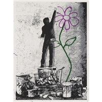 eternity by mr. brainwash