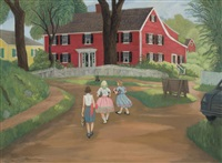 Red House, Kennebunkport, 1961
