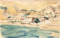 white hill in balchik by max arnold