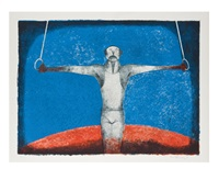 cruz de hierro, el gimnasta by rufino tamayo