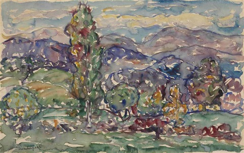 new hampshire by maurice brazil prendergast