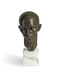 head of a dancer (harald kreutzberg) by richmond barthe