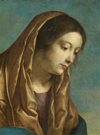 fragment einer maria by orazio gentileschi