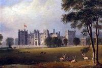 bransepeth castle, durham by george vincent