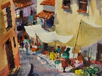 taxco market by tom hill