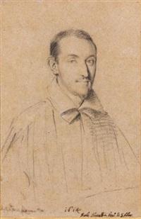 monseigneur nuccellia, évêque de san fior, en buste by ottavio maria leoni
