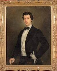 portrait d'un gentilhomme by adolphe stache