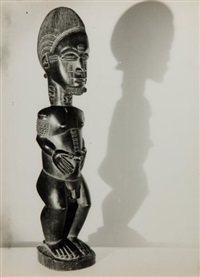 sculpture et masques africains (5 works) by andré steiner