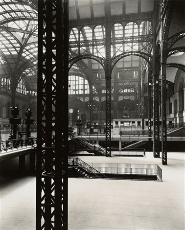 pennsylvania station interior 3 new york by berenice abbott