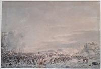débarquement des troupes anglo-hollandaises à ijmuiden by dirk langendyk