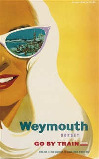weymouth, dorset (+ 3 others; 4 works) by laurence fish