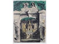 harlaxton through the gate by john piper