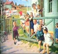 la maternelle du village by leonid alexandrovitch fokin