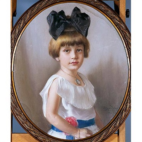 retrato de niña by enrique rodriguez