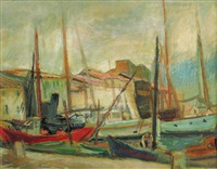 in the harbour in istanbul by iosif iser