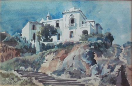 a villa, spain by james mcintosh patrick