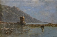 marina con castello by federico cortese