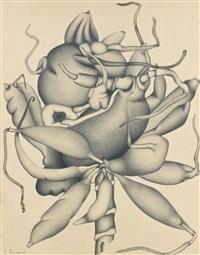 racines de dahlia by georges bauquier