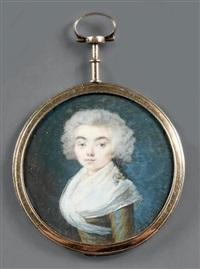 portrait de jeune femme by jaquemin
