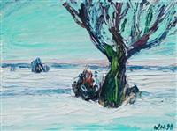 winterlandschaft by werner haselhuhn